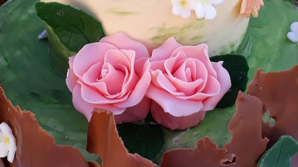 Rózsa (fondant)