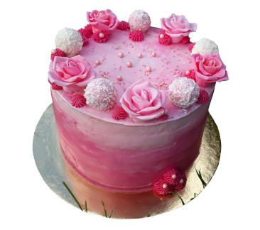 Körbekent torta