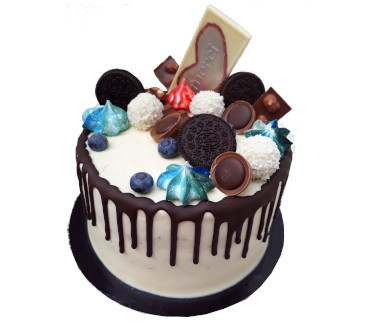 Csurgatott torta